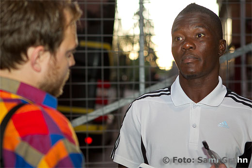 AIK 19 Ibrahim Bangura gjorde matchens alla mål