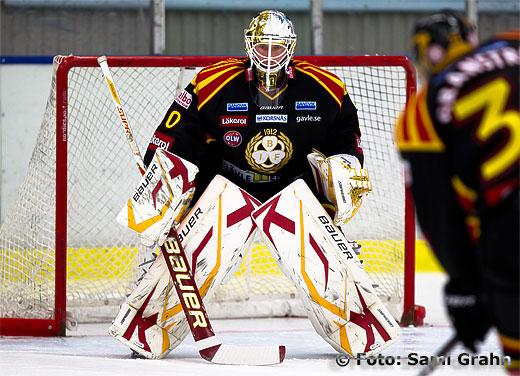 Brynäs målvakt 40 Johan Holmqvist