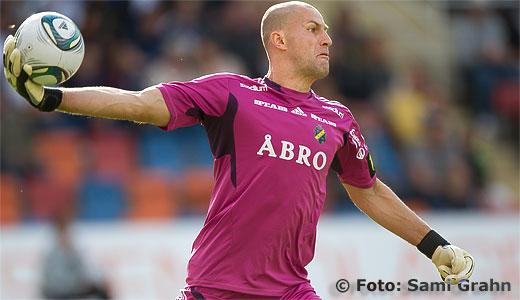AIK målvakt 27 Ivan Turina