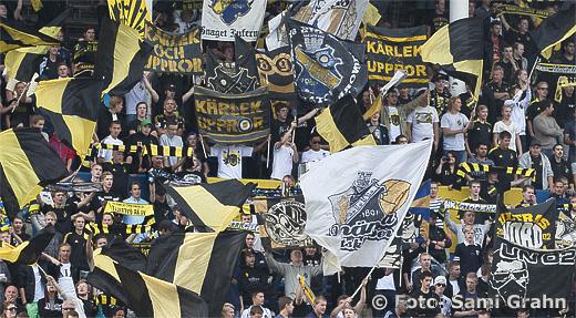 AIK klacken fans publik