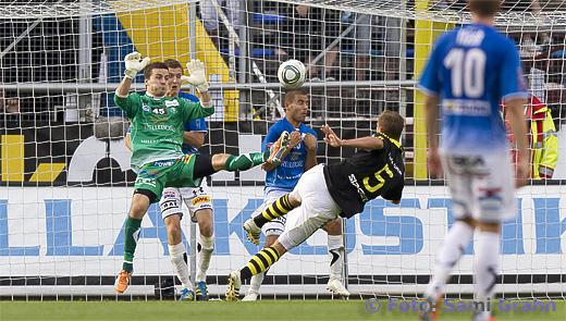 Mål av AIK 5 Robert Åhman Persson