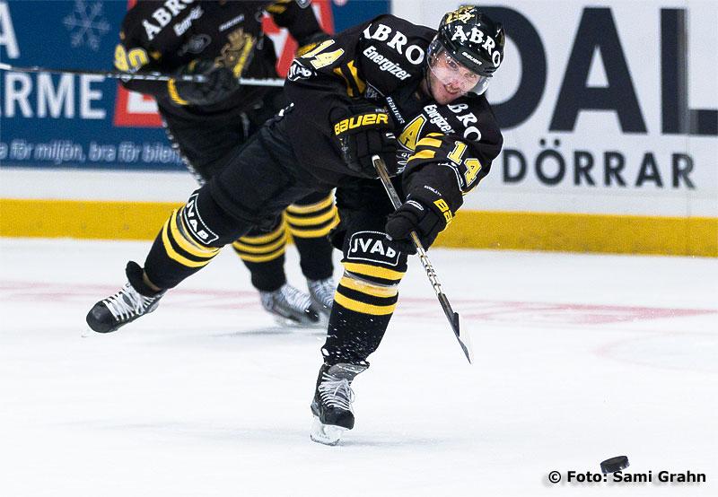 AIK forward 14 Daniel Rudslätt