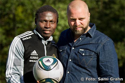 Björn Wesström har scoutat Crespo Hassan Kamara till AIK