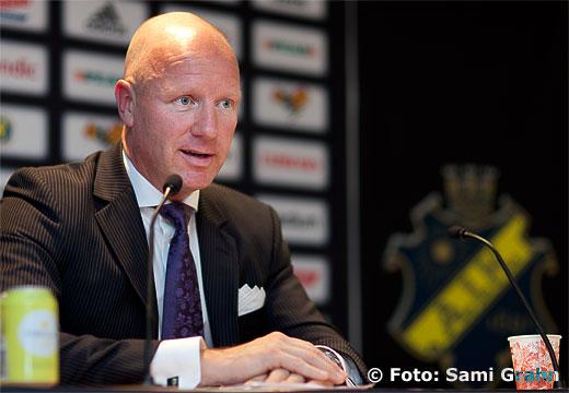 Johan Strömberg, Ordförande i AIK Fotboll AB