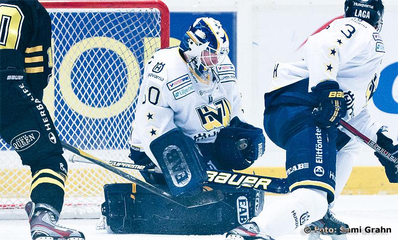 HV71 målvakt 30 Daniel Larsson