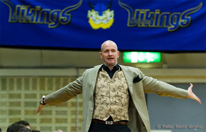Solna Vikings huvudtränare Torbjörn Gehrke