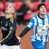 AIK 20 David Fällman och Eskilstuna 8 Tomas Karlsson
