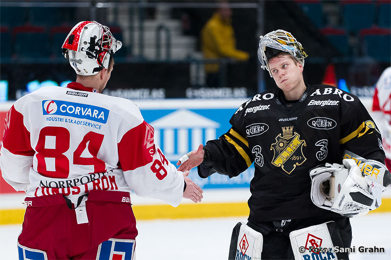 Timrå 84 Joakim Lundström och AIK 30 Viktor Fasth