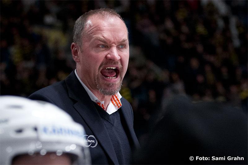Växjös uttrycksfulle tränare Janne Karlsson