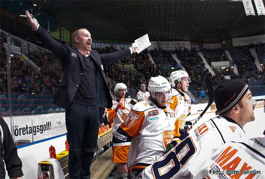 Växjös missnöjde tränare Janne Karlsson