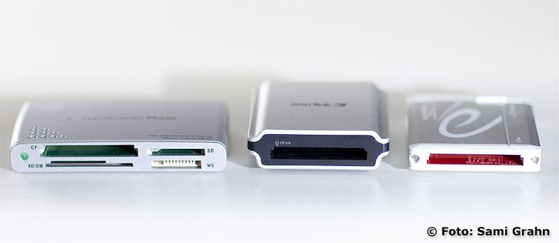 Delock card reader Firewire 1394B längst till höger