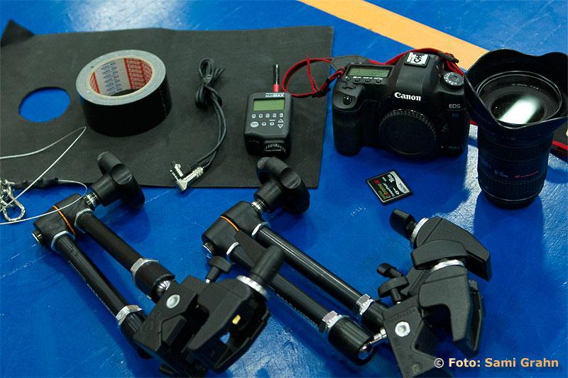 Allt som behövs för backboard fjärrkamera
