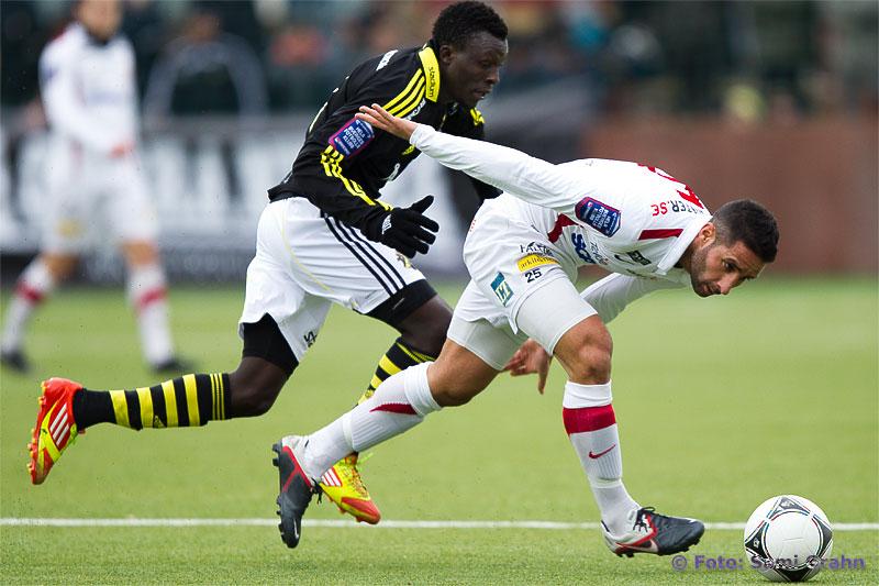 AIK 11 Lalawele Atakora och Assyriska 5 David Durmaz