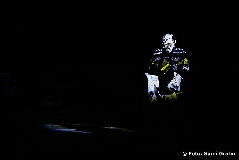 AIK målvakt 29 Markus Svensson i rampljuset