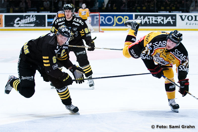 AIK 6 Dick Tärnström och Luleå 21 Toni Koivisto