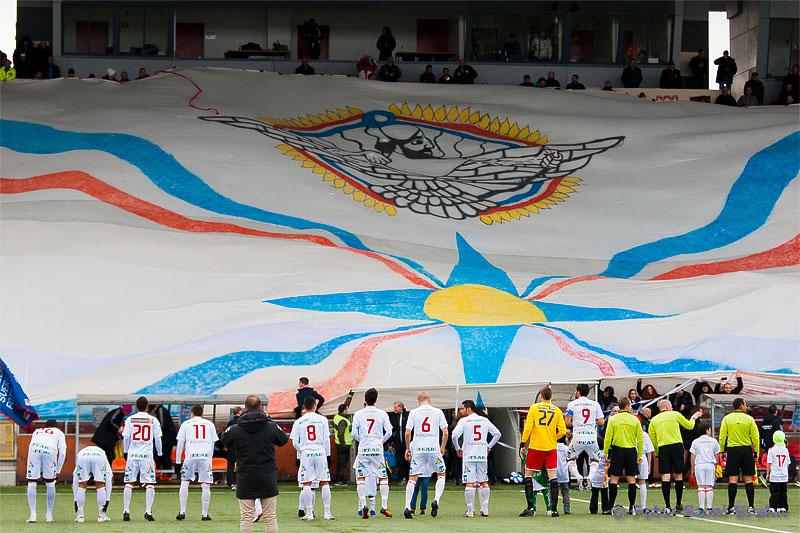 Zelge fans tar emot Assyriska FF inför säsongspremiären
