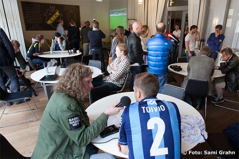 Pressträff inför derbyt AIK-Djurgården