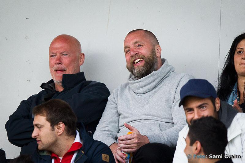 AIK:s Björn Wesström söker ny anfallare från läktarplats