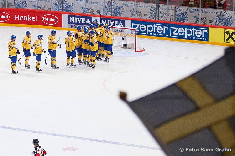 Tre Kronor vann första matchen mot Tjeckien