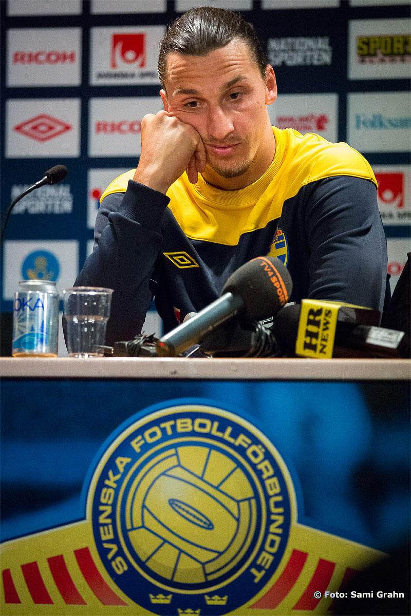 Sverige 10 Zlatan Ibrahimovic