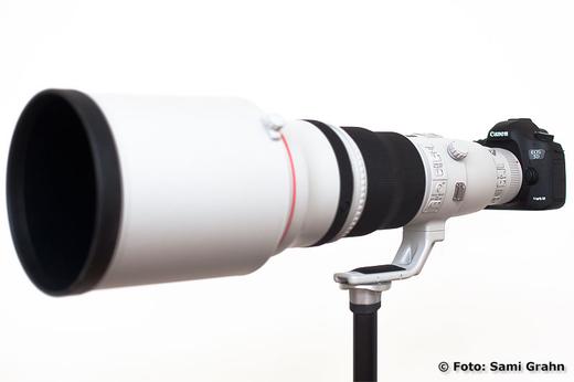 En första titt på Canon EF 600 f/4 L IS II USM