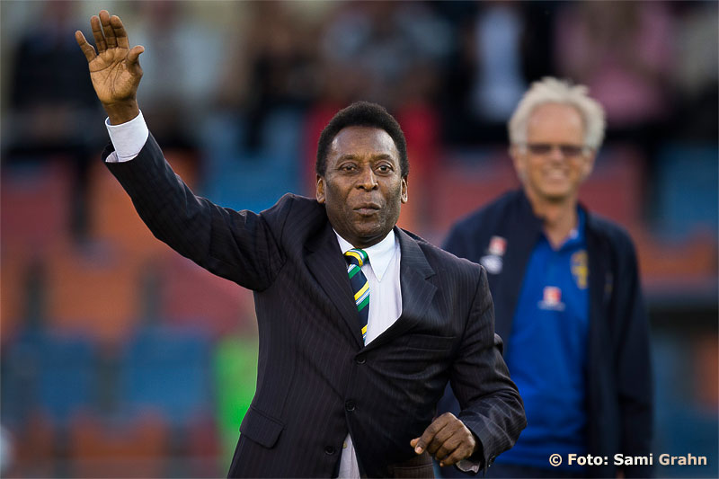 The one and only Pelé