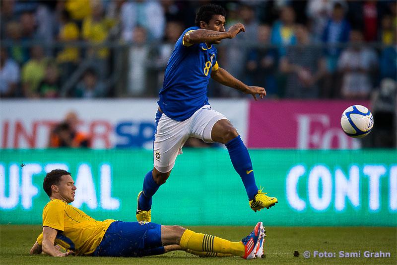 Sverige 20 Marcus Berg och Brasilien 8 Paulinho