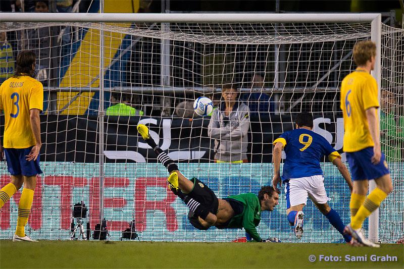 1-0 av Brasilien 9 Leandro Damio