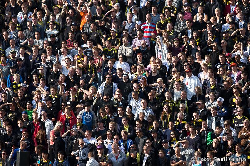 Över 30 000 personer i publiken njöt av fin fotboll