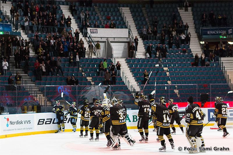 AIK tackar den tappra lilla läktarskaran efter säsongens första seger