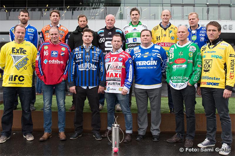 Elitserien i bandy består av 14 lag, varav 4 från Hälsingland