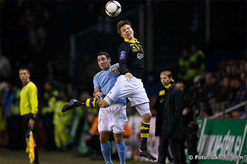 AIK 28 Viktor Lundberg satte det sista Allsvenska målet någonsin på Räsunda