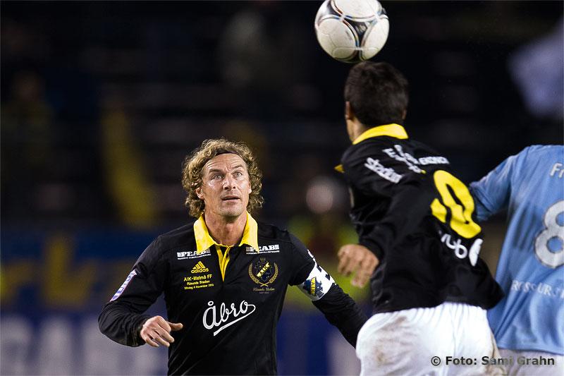 Många tycker att AIK 8 Daniel Tjernström borde fått en landslagsplats, utom förbundskaptenen