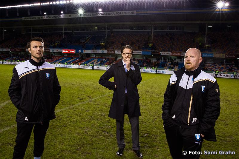 Malmö FF:s Rikard Norling står på sin gamla hemmaarena och funderar över framtiden