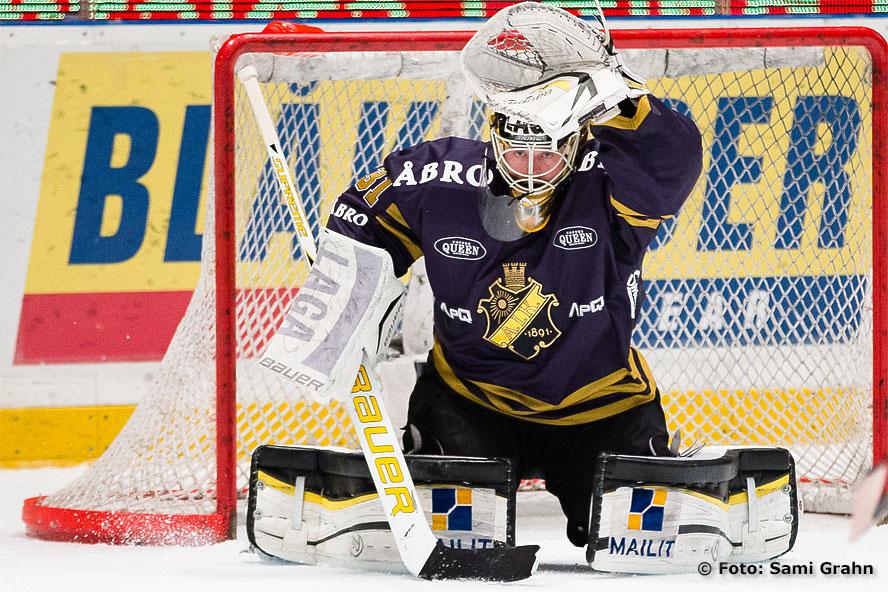 AIK:s målvakt 31 Daniel Larsson