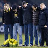 Fem av AIK:s supporterföreningar avtackade Råsunda