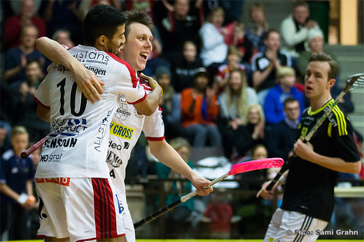 Storvreta 18 Joakim Olsson gjorde ett av kvllens ml