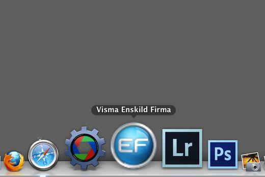 Visma Enskild Firma som App i Dockan