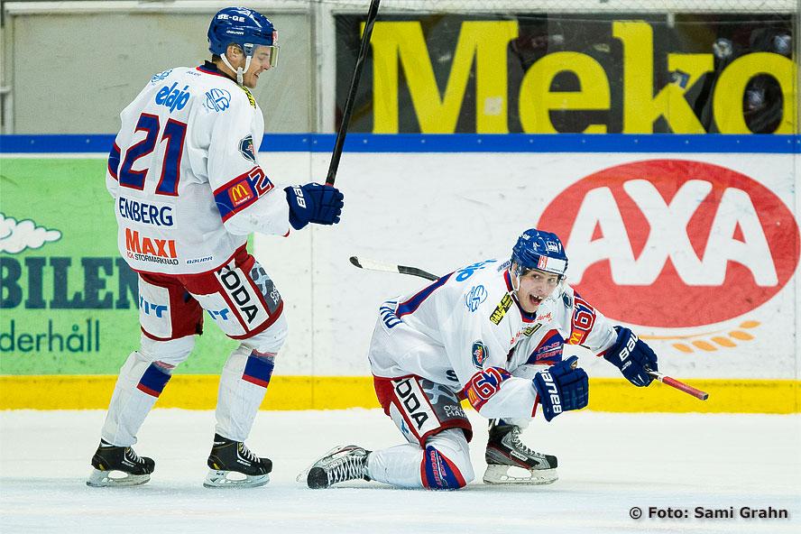 Oskarshamn 61 Mattias Granlund gör sitt första mål i Hockeyallsvenskan