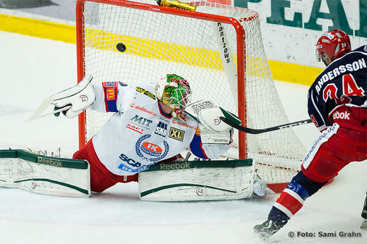 Sdertlje 24 Johan Andersson ntar bakom Oskarshamn 35 Patrick Galbraith
