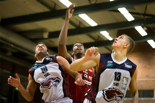 Eagles 10 Serkan Inan , Uppsala 13 Keith Wright , Eagles 13 Ronaldas Rutskauskas