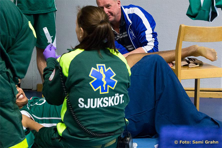 Ambulanspersonalen ger Lund 13 Abdou Medjedoub morfin
