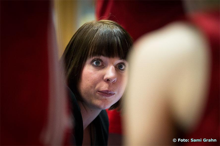 Sallén coach Jenny Håkansson