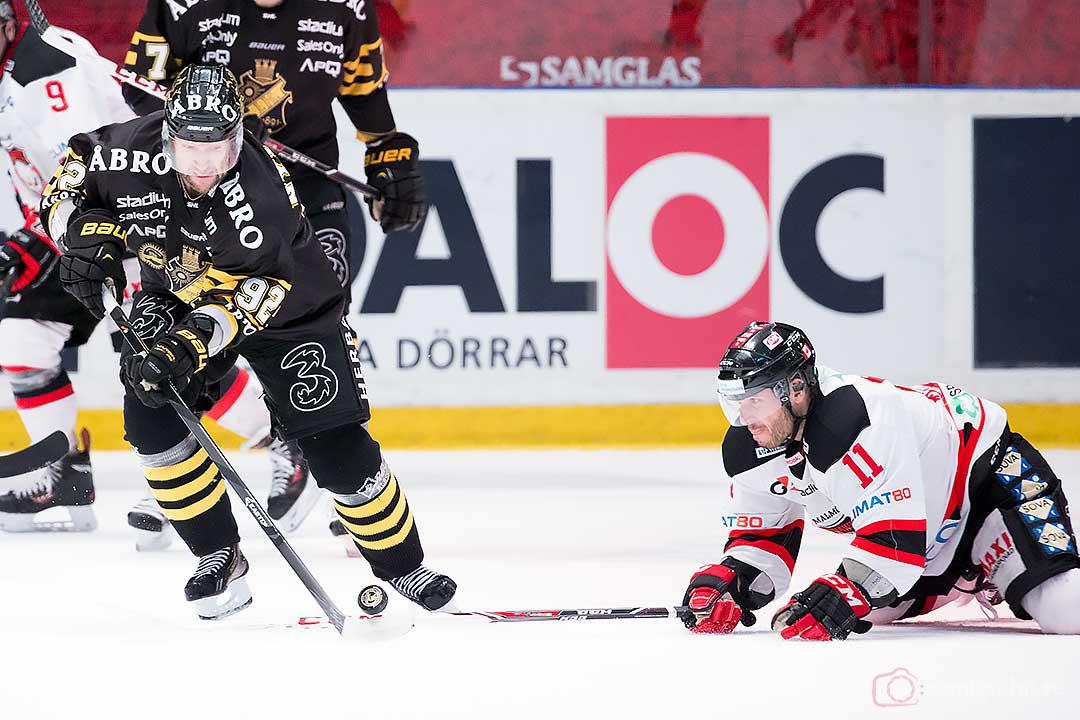 AIK Michael Nylander och Malmö Joey Tenute