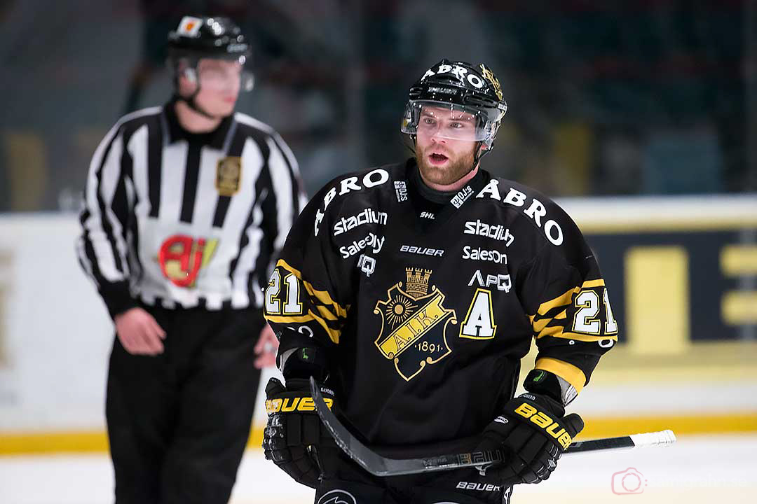 Målskytten AIK Christian Sandberg