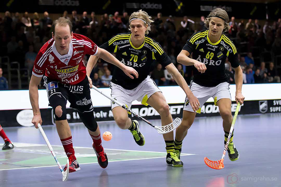 Storvreta Jesper Berggren, AIK Kim Nilsson och Kevin Björkström