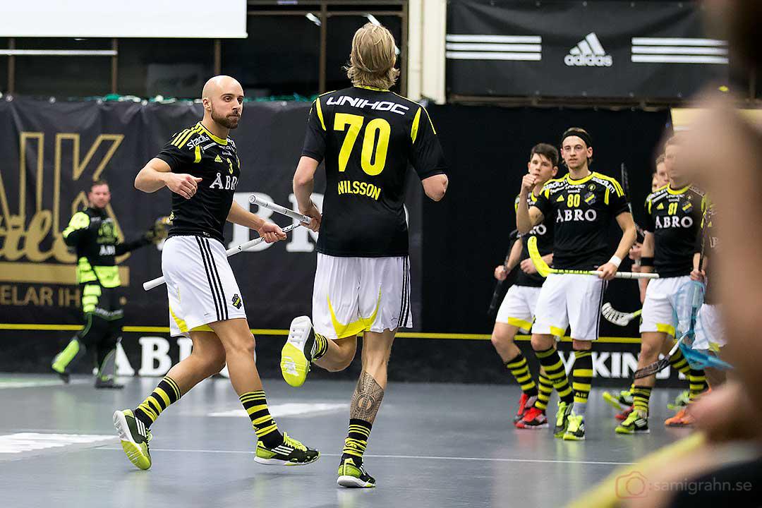 AIK Alexander Egebrant och Kim Nilsson