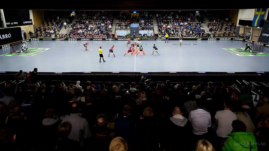 Semifinal 4 mellan AIK och Storvreta i Solnahallen