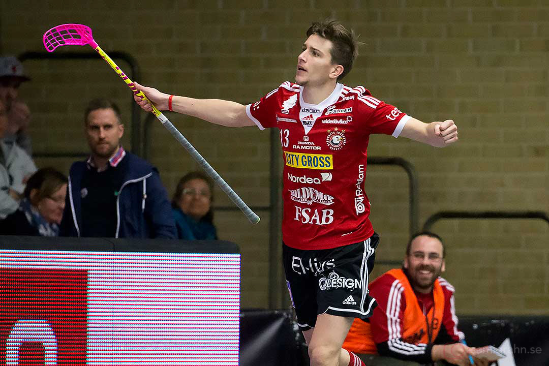 Målskytt Storvreta Mattias Samuelsson