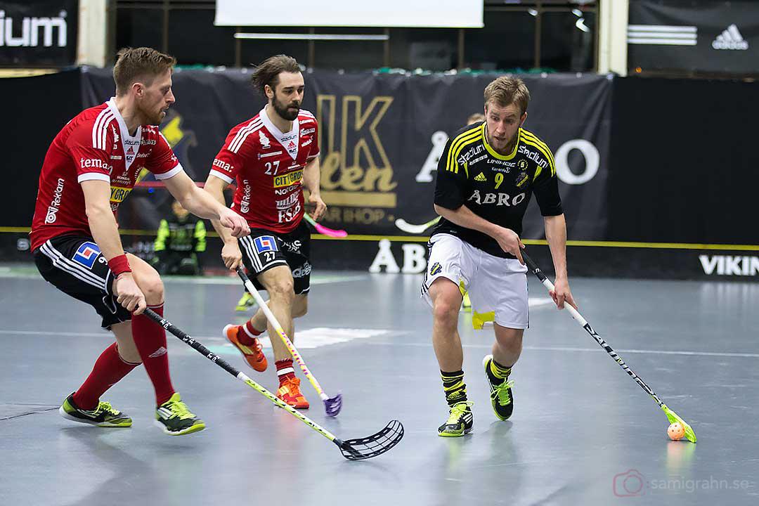 Storvreta Staffan Jacobsson och Rickie Hyvärinen samt AIK Patrik Hagberg